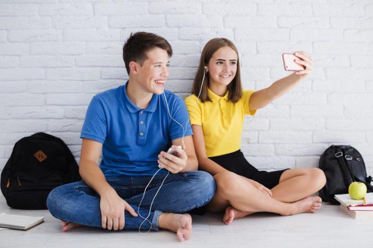Com Invisalign as selfies saem mais espontâneas!